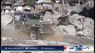 Pak Army Snow jeep rally in Swat