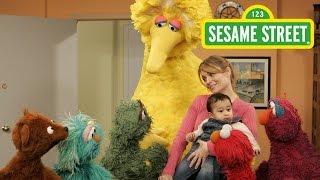 getlinkyoutube.com-Sesame Street: Gina Adopts a Baby (Part Two)