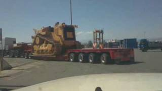 getlinkyoutube.com-CAT D11T ,DAF XF 530 FTM CYPRUS heavy haulage