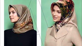 getlinkyoutube.com-Armine Yeni Sezon Eşarp Bağlama Stilleri Muslima Scarf Style