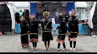 Tarian Sajojo dari Papua juga menarik perhatian banyak penonton saat pentas budaya di malang
