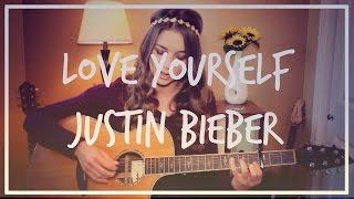 getlinkyoutube.com-Love Yourself - Justin Bieber Guitar Tutorial // Easy