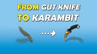 getlinkyoutube.com-From GUT KNIFE to KARAMBIT Tiger Tooth - CS:GO Trading - Road to a Karambit Knife