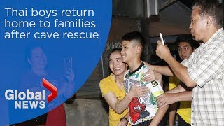 Thai-boys-rescued-from-cave-return-home-to-families width=