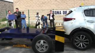getlinkyoutube.com-Low-Speed Crash Test 2017 KIA Sportage