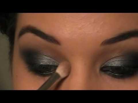 Lea Michele Smokey Eye Makeup Tutorial