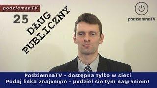 getlinkyoutube.com-Robią nas w konia: Pajac z TVN o DŁUGU PUBLICZNYM - MASAKRA!!!
