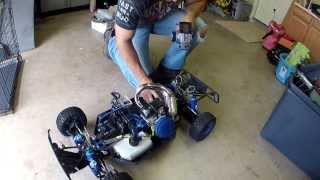 getlinkyoutube.com-One highly modified Losi 5T RC AWD non Nitro Gas Truck
