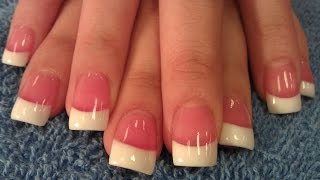 getlinkyoutube.com-HOW TO SIMPLE PINK & WHITE NAILS STEP BY STEP PART 1