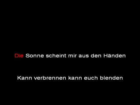 Rammstein - Sonne (LIFAD tour version, instrumental with lyrics)