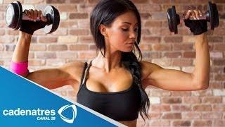 ¿Cómo tonificar y fortalecer el busto? / Ejercicios rápidos para bajar de peso