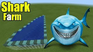 How to Make a Shark Farm | Minecraft PE