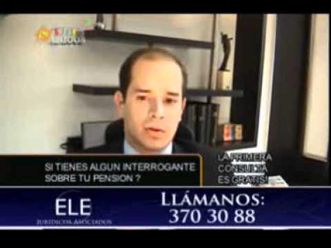 ELE JURIDICOS ABOGADOS TEMA PENSIONES HOY LA MESADA 14.wmv