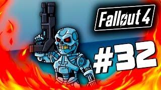 Fallout 4 - ЛУЧШАЯ БРОНЯ! - ПОИСКИ СЕКРЕТОВ! #32