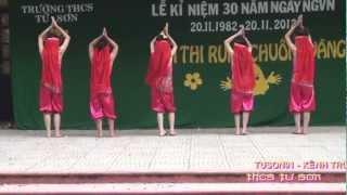 getlinkyoutube.com-MÚA : VARIOUS - MADE IN INDIA ( tốp múa 6A2 - THCS TỪ SƠN - BẮC NINH )