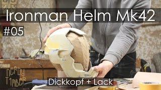 getlinkyoutube.com-Ironman Helm - #05 Dickschädel - Lackschicht 1