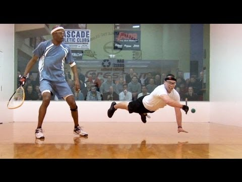 2012 Racquetball Regional Highlights