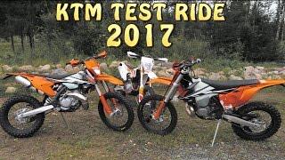 getlinkyoutube.com-KTM TEST RIDE 2017 EXC 250 300 450