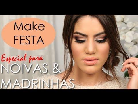 Maquiagem para Casamentos: Noivas/Madrinhas! por Camila Coelho