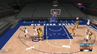 getlinkyoutube.com-NBA 2K17 Introduction to Triangle Offense Freelance