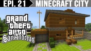 getlinkyoutube.com-Minecraft City - Casa do CJ