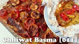 getlinkyoutube.com-Chhiwat Basma [011] - Poissons avec des légumes au four طريقة تحضير السمك في الفرن