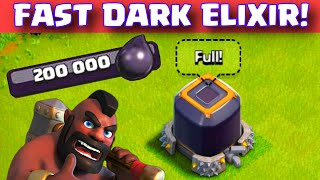 getlinkyoutube.com-Clash of Clans HOW TO GET DARK ELIXIR FAST TH7/8/9/10 Easy Dark Elixir Farming