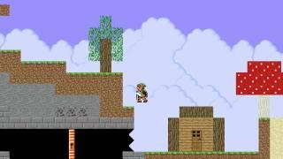 """getlinkyoutube.com-Super Mario Bros X Custom Level """"Link plays Minecraft"""""""