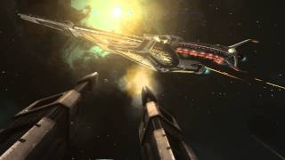 getlinkyoutube.com-Elite: Dangerous Capital Ship Battle Video