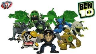 getlinkyoutube.com-Ben 10 Mini Figures Series 3 Blind Bags Toy Review, Bandai