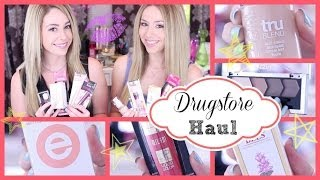 New at the Drugstore Haul ♡ February 2014