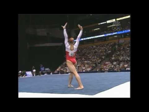 Courtney McCool - Floor Exercise - 2004 U.S. Gymnastics Championships - Women - Day 2