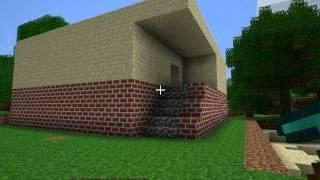 getlinkyoutube.com-Minecraft-przykładowe budynki-odcinek 16 część 1
