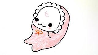 How to draw Mamegoma 아기 마메고마 그리기 #004 cute kawaii かわいい 可愛 예쁜 캐릭터 손그림 그리는 법 リラックマ