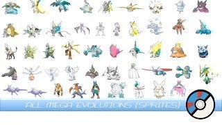 getlinkyoutube.com-All Mega Evolutions (Animated Sprites) メガシンカ