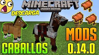 getlinkyoutube.com-Super Mod De Caballos - Minecraft Pe 0.14.0 - Descarga Igual a Pc