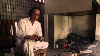 getlinkyoutube.com-Forging a Katana ( Japanese Samurai Sword )