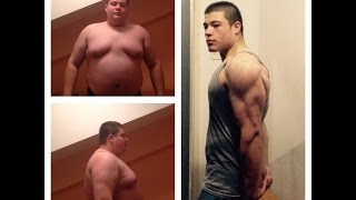getlinkyoutube.com-One Year Body Transformation from fat to fit