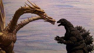 getlinkyoutube.com-Godzilla vs The Alien Monsters 3 - The Mysterian Army