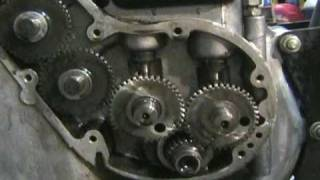 getlinkyoutube.com-Royal Enfield Timing Cover comes off