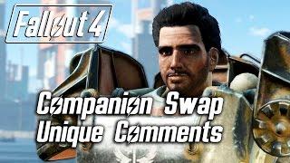 getlinkyoutube.com-Fallout 4 - Companion Swap Unique Comments (Paladin Danse)