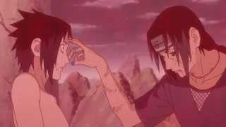 Itachi Uchiha vs Sasuke Uchiha - Itachi's Death - English Sub - HD
