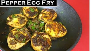 getlinkyoutube.com-Spicy Pepper egg fry in tamil [roast ] | chettinad style | Deeps tamil kitchen