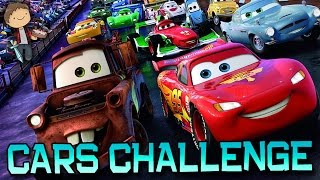 getlinkyoutube.com-Minecraft: CARS RADIATOR SPRINGS CHALLENGE PVP! with The Pack!