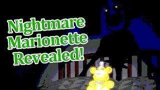 getlinkyoutube.com-Nightmare Marionette Revealed! Fnaf 4 Halloween update teaser!