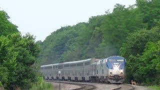getlinkyoutube.com-Amtrak Train Hits Deer