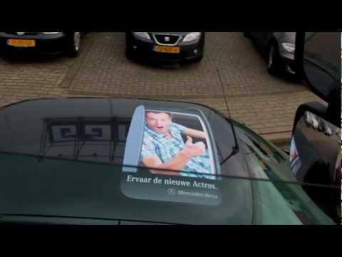 Mercedes-Benz Actros Rooftop Stickers