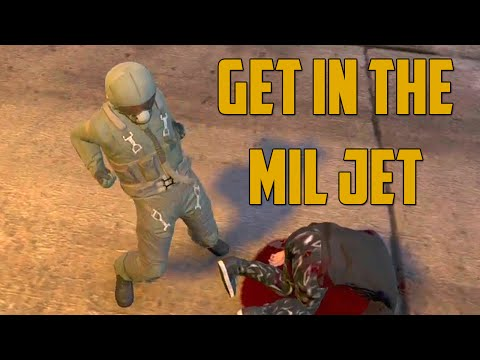 GET IN THE MIL JET! (Grand Theft Auto V)