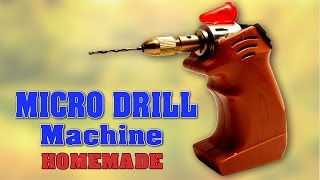 getlinkyoutube.com-How to make Mini Drill Machine at home   DIY Homemade Micro Drill Machine   SIMPLE