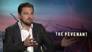 "getlinkyoutube.com-The Revenant: Leonardo DiCaprio ""Hugh Glass"" Exclusive Interview"